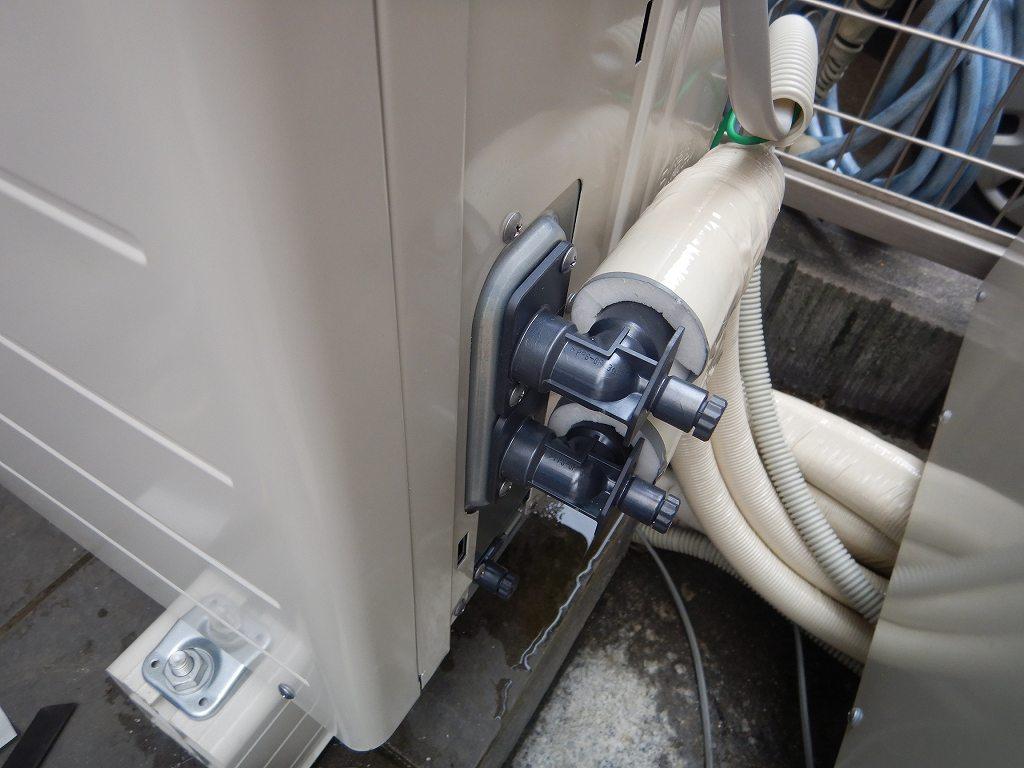 ヒートポンプは専用の配管
