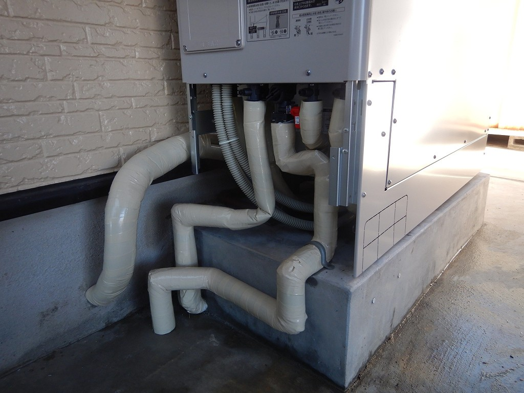 配管を保護処理