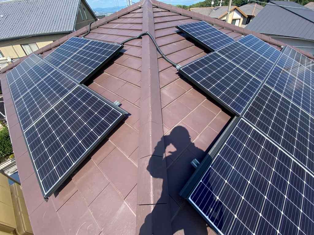 シャープ太陽光パネル