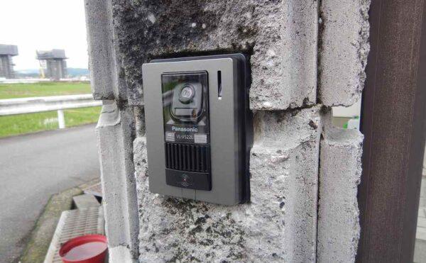 カメラ付き玄関子機