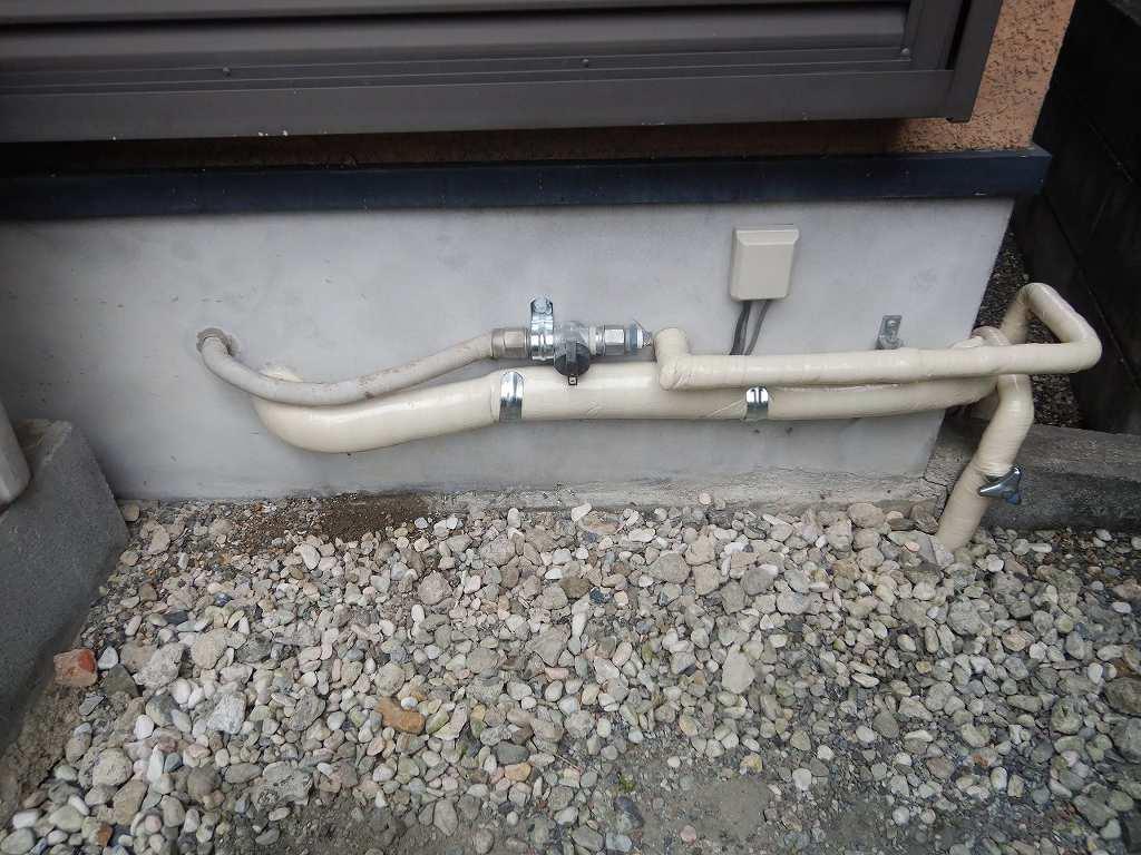 配管を補修