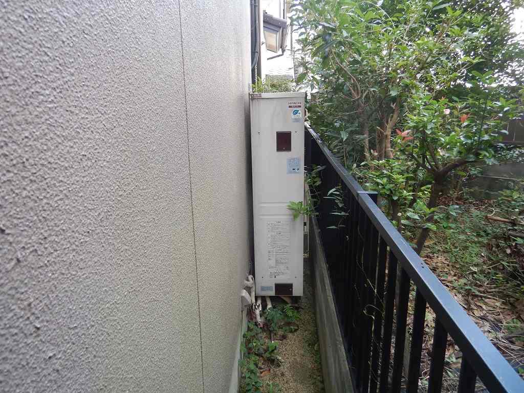 薄型電気温水器の故障