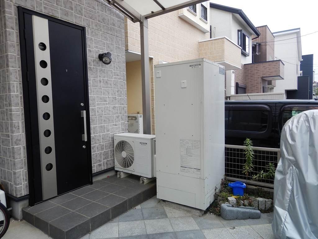 コロナ 床暖房機能付きエコキュート