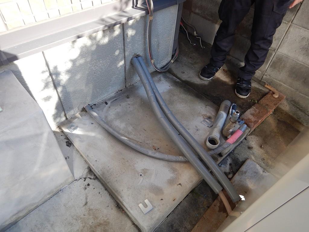保温材で配管を守る