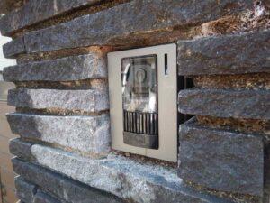 LEDライト・カメラ付き インターホン
