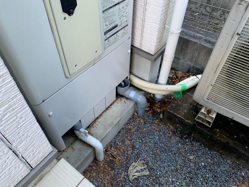 エコキュートから水漏れ修理