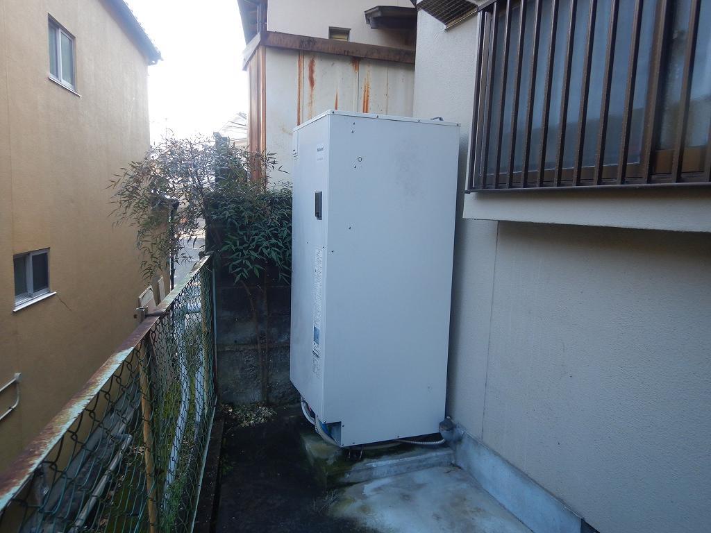 ナショナル 電気温水器の故障